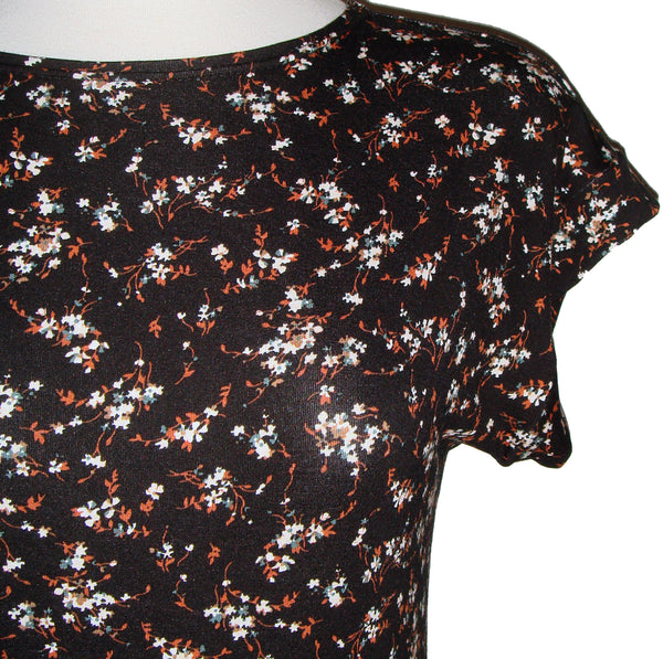 Julia Tunic - Floral - Rust