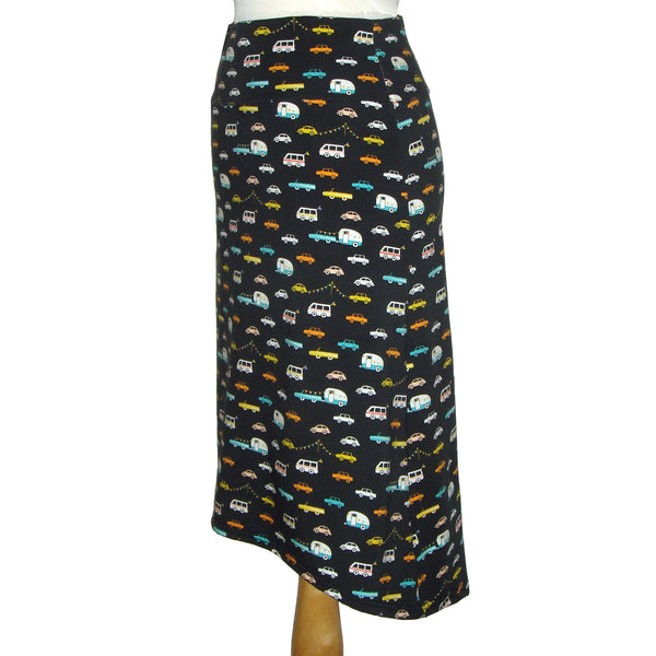 Midi Skirt - Cars and Campers