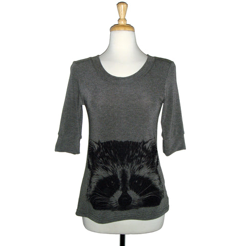 Sweater - Raccoon - Charcoal