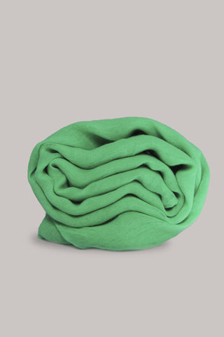 Lime Plain Scarf
