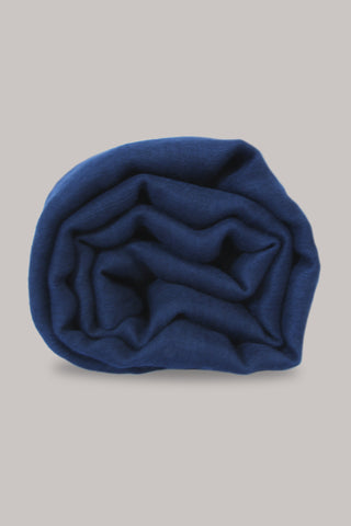Navy Plain Scarf