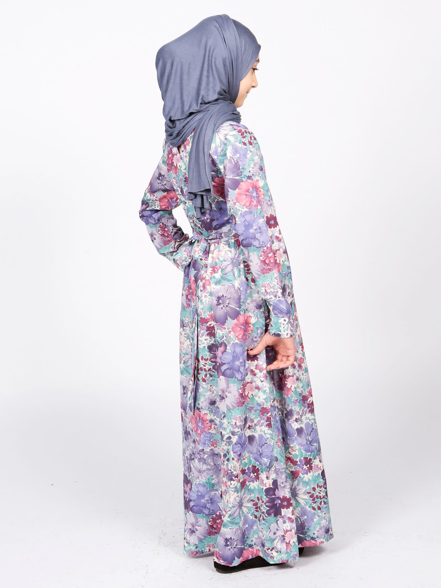 Floral Girls Maxi Dress
