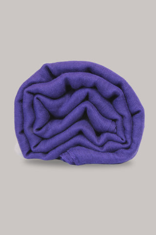 Purple Plain Scarf