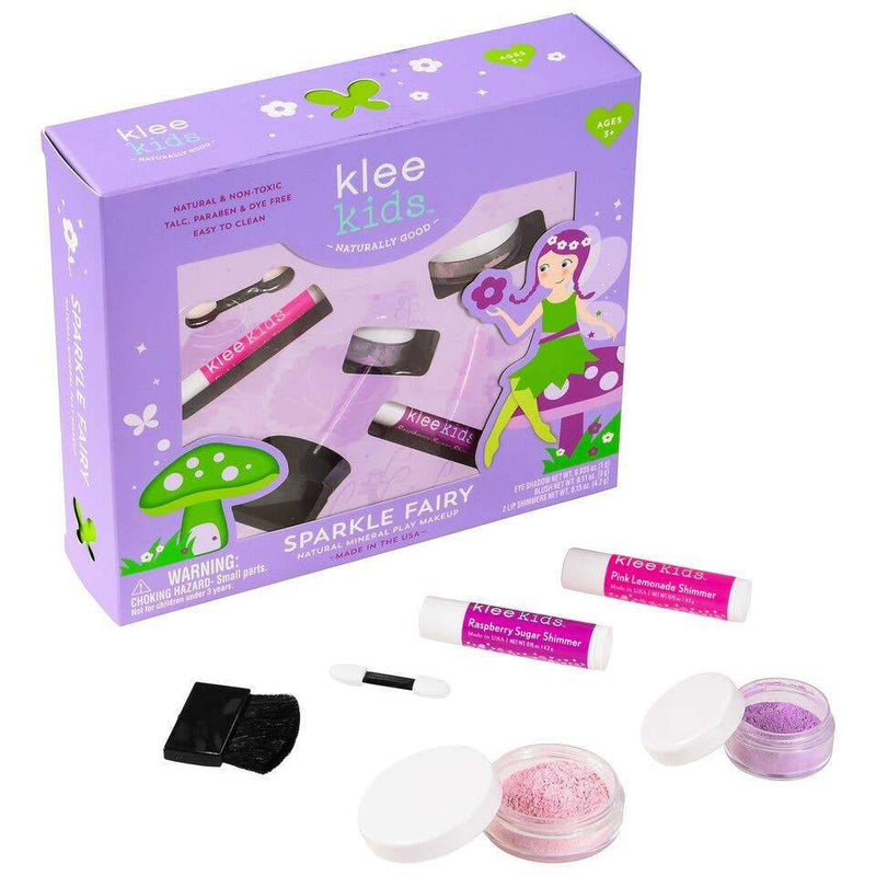 Klee Kids Natural Mineral Play Makeup Kit Sparkle Fairy