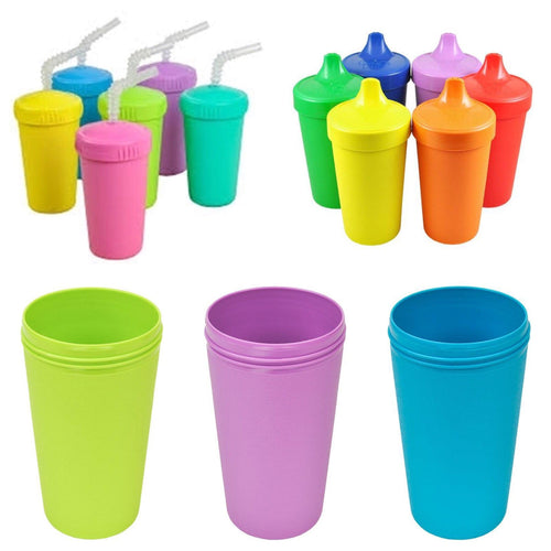 Replay Cup Base ( No Spill Sippy Lid or Straw Top sold separately)