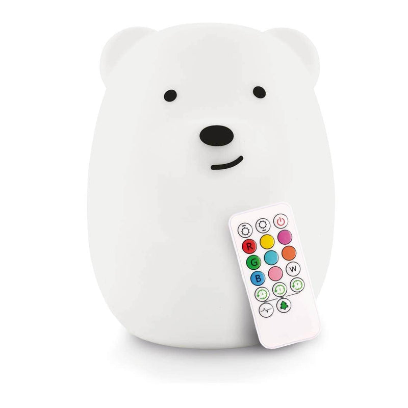Lumipets Rechargeable Color Changing Night Light Bear