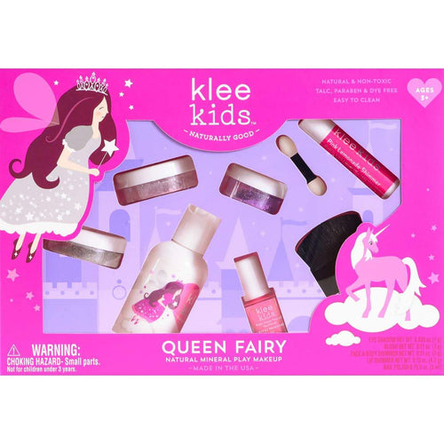 Klee Kids Natural Mineral Play Makeup 6-PC Kit Queen Fairy