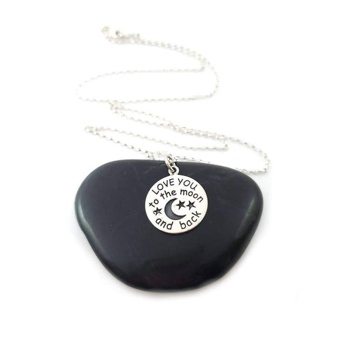 CY Design Studio Love You To The Moon Necklace