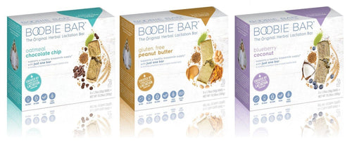 Boobie Bars Lactation Aid (box of 6)