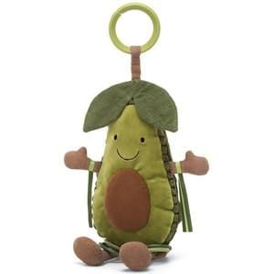 JellyCat Amusibles Avocado Activity Toy