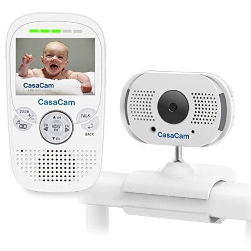 "CasaCam BM100 Video Baby Monitor with 2.3"" LCD Monitor and Digital ClipCam (1-cam kit)"
