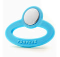 Toofeze silicone and steel teether
