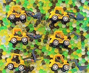 SENSORY4U Dew Drops Construction Zone Sensory Bin Kit