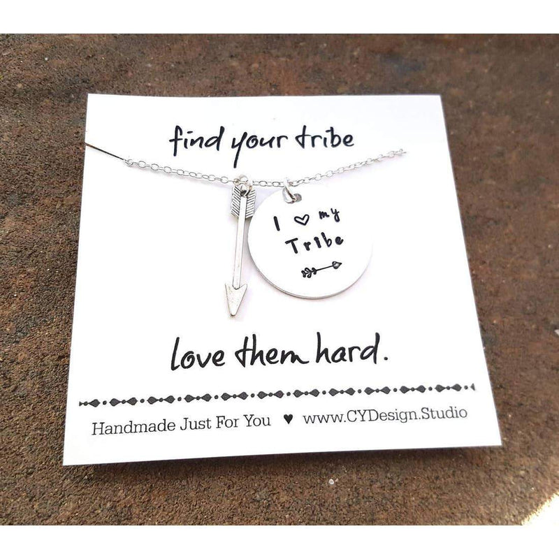 CY Design Studio I Love My Tribe Necklace