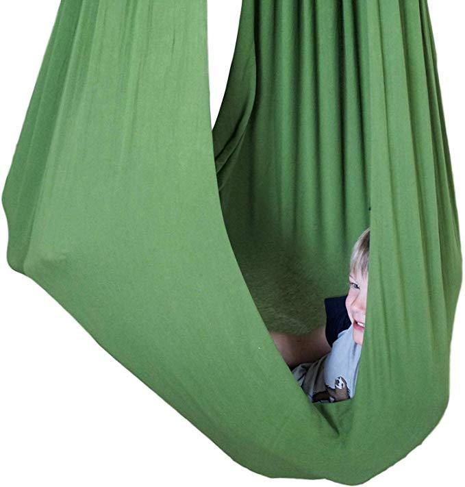 Sensory4u Sensory Swing Olive Green (Hardware Included)