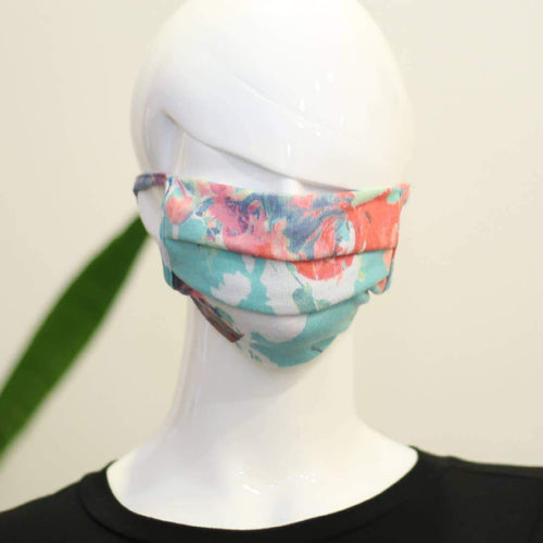 Pleated Fabric Face Masks