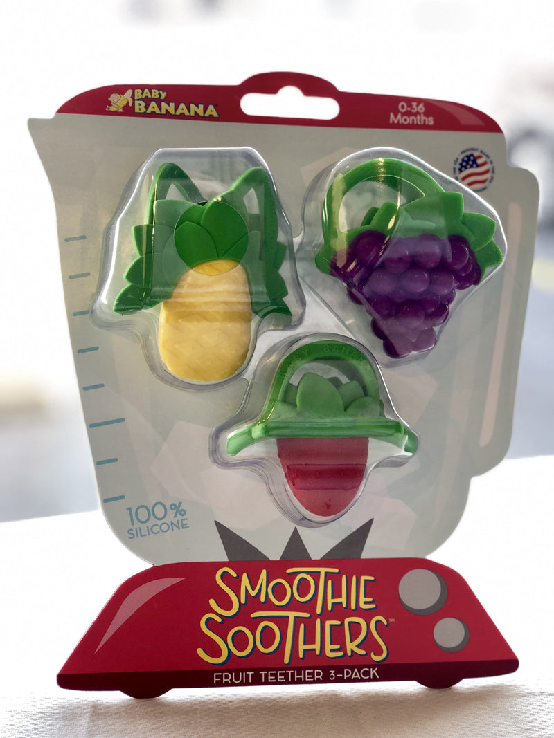 Smoothie Soothers Fruit Teethers by Baby Banana