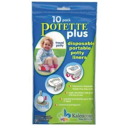 Potette Plus 2 in 1 Liners