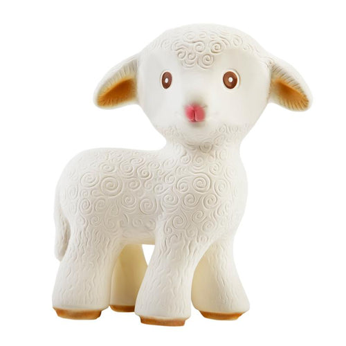 Mia the Lamb Teething Toy by CaaOcho