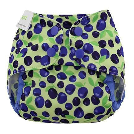 Blueberry Newborn Capri Diaper Cover