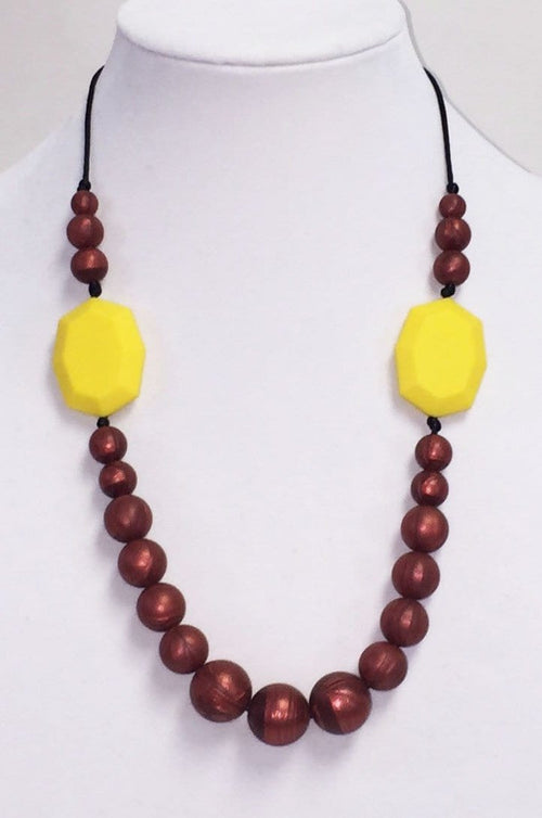 Gumeez Marisol Silicone Teething Necklace