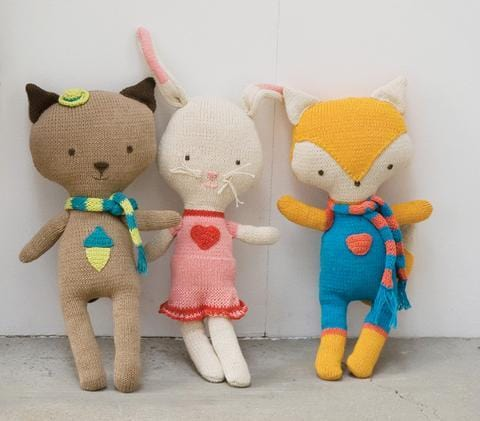 Peppa Animal Dolls by Babylonia