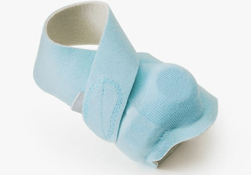 Owlet Pink or Blue Fabric Sock