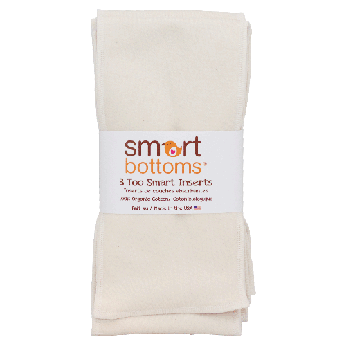 Smart Bottoms Too Smart Inserts - 3 pack