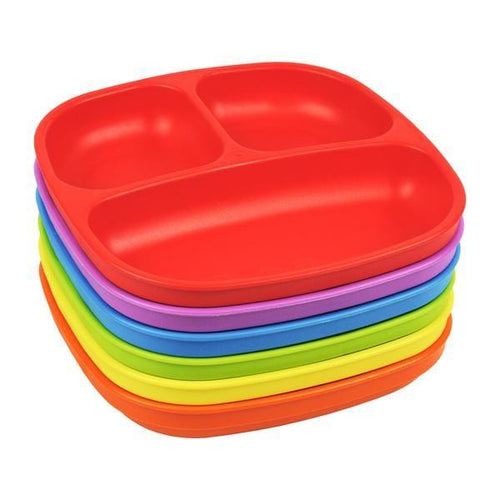 Re-Play Kids Divided Plates (Single Plate)