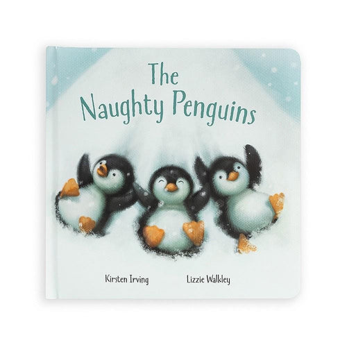 Jellycats The Naughty Penguins Book