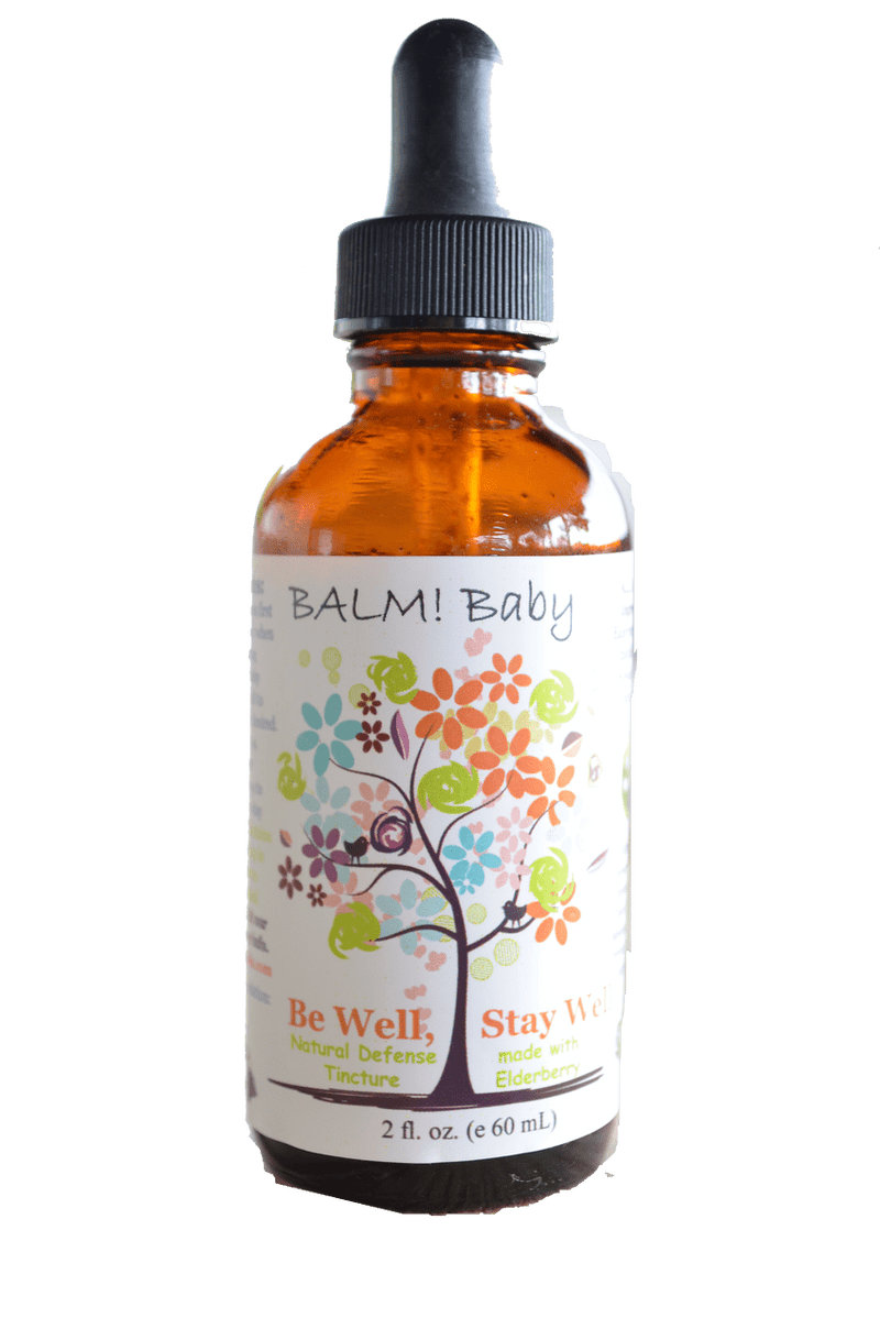 Be Well, Stay Well Elderberry Natural Immunity Defense by Balm Baby