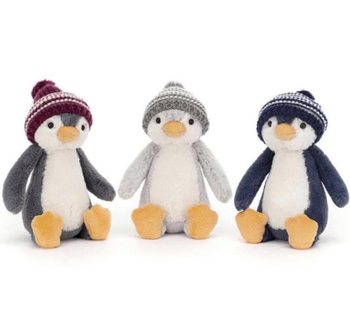 JellyCat Bashful Bobble Hat Penguin