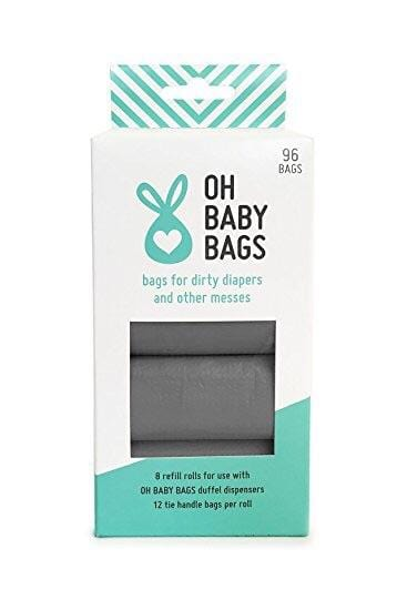 Oh Baby Diaper Disposable Wet Bag Refill Pack