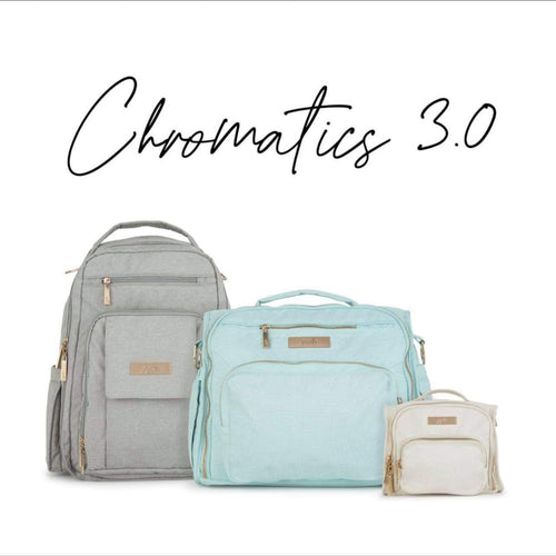 JuJuBe Chromatics 3.0  Linen Pebble Water