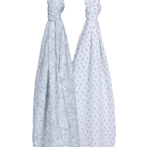 Bebe Au Lait Swaddle Blanket Set