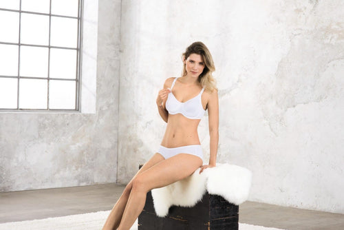 Anita Underwire Basic Nursing Bra White *FINAL SALE NO RETURNS*