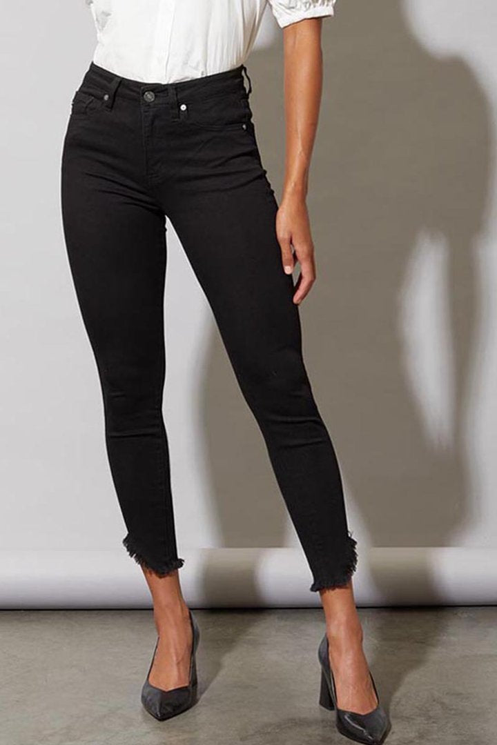 Dayana High Rise Ankle Skinny Jeans