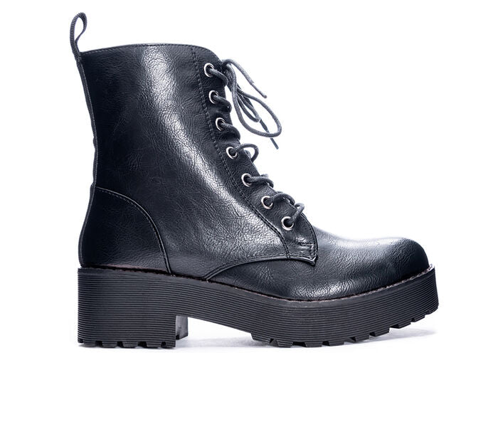 The Mazzy Combat Boot