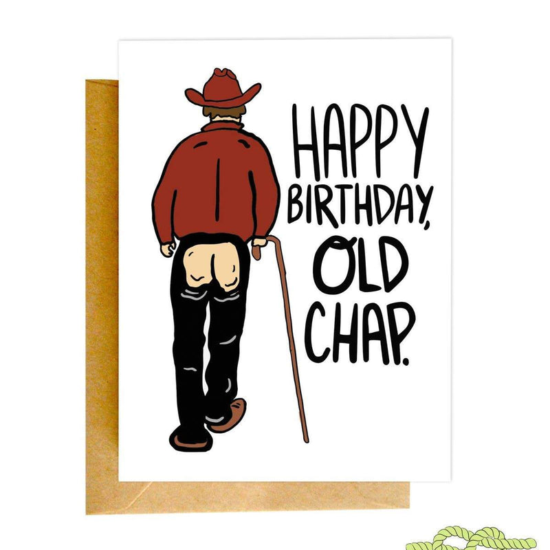Old Chap Birthday Card - CLT Boutique