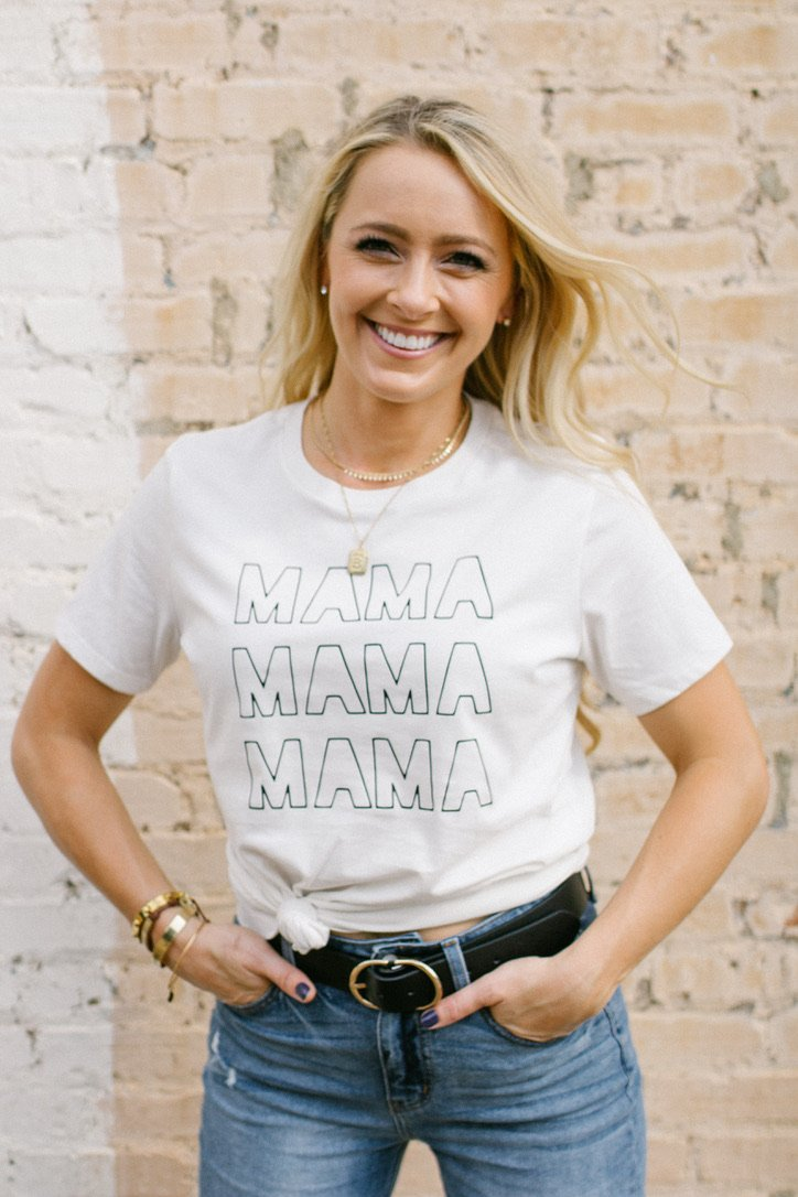 Mama shirt, mom, mama, mommy, clothing, cute, graphic tee, graphic shirt