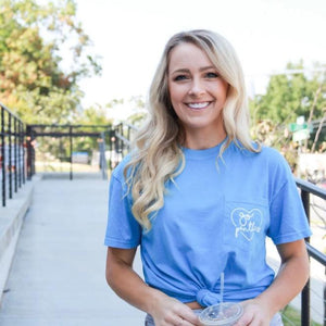 Go Panthers Pocket Tee - CLT Boutique