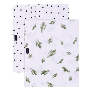 Saguaro & Dottie Oh-So-Soft Muslin Swaddle Blanket Set