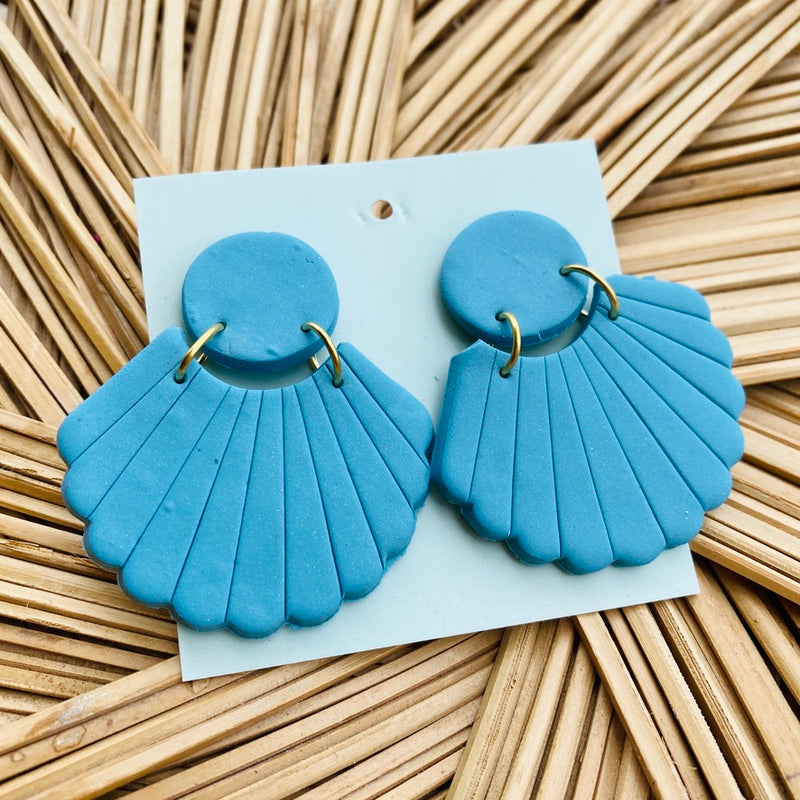 The Ariel Clay Earring