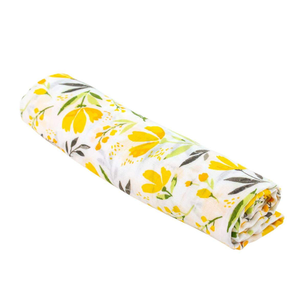 Royal Garden Oh-So-Soft Muslin Single Swaddle Blanket - CLT Boutique