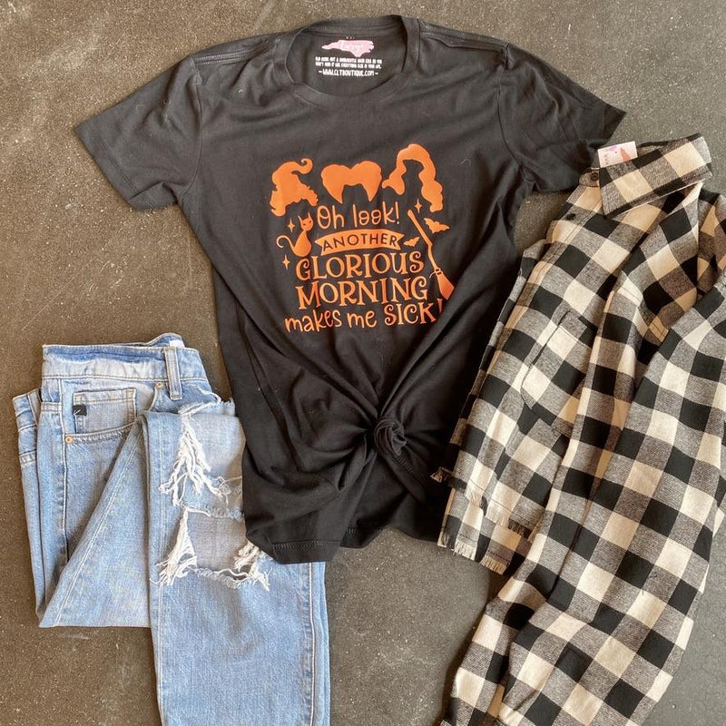 Another Glorious Morning Halloween Shirt - CLT Boutique