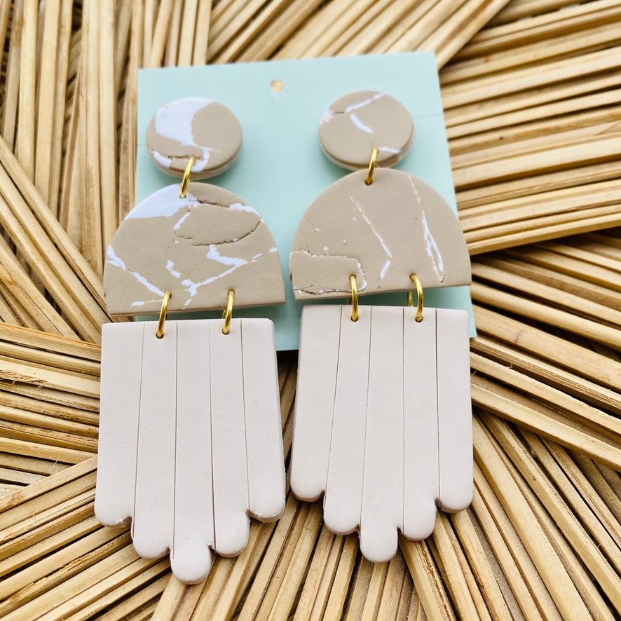 The Juliette Clay Earring