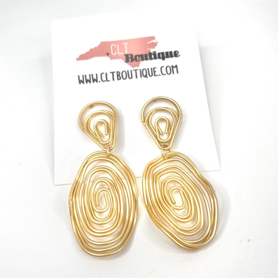 The Billie Earrings - CLT Boutique