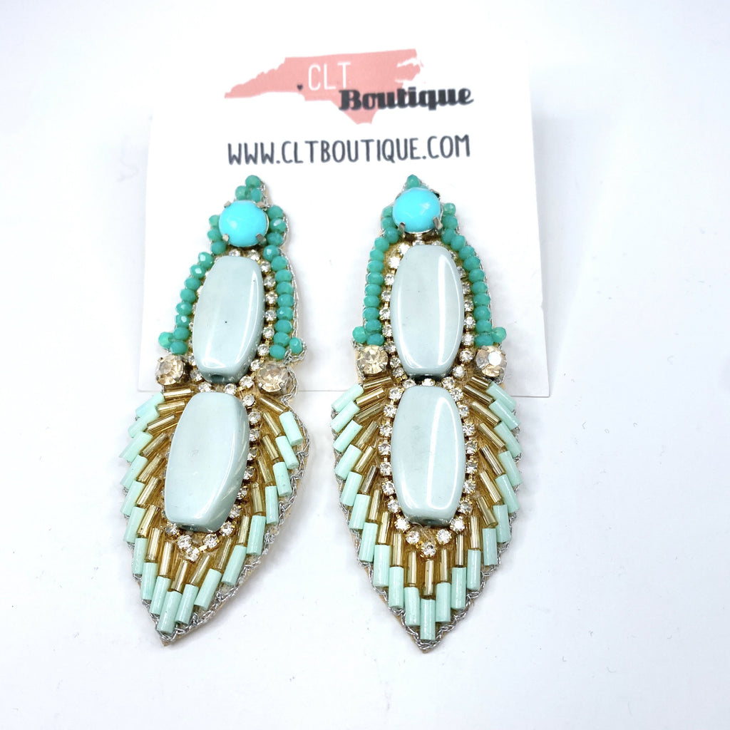The Jasmine Earrings - CLT Boutique