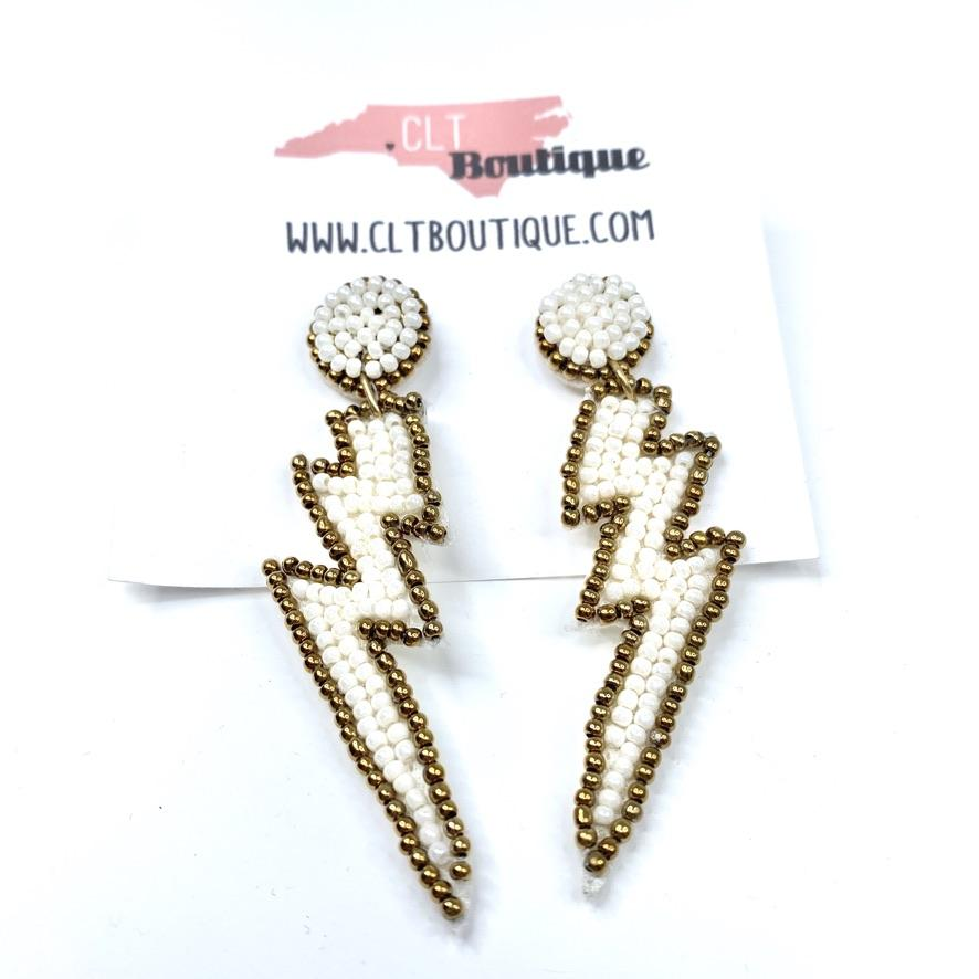 Lightning Bolt Earrings - CLT Boutique