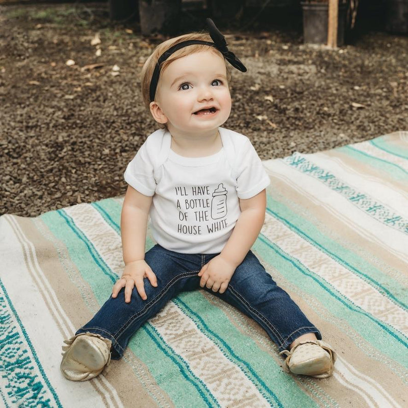 wine, wineo, whine-o, house white, white wine, funny kids shirt, milk, fashion, baby, toddler, style, handmade, baby, gift